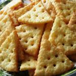Печенье Сырные дольки фото