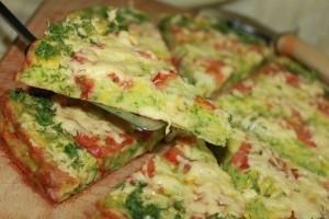 Низкокалорийная пицца фото