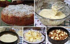 "яблочный пирог ""Домашний"" фото"