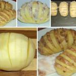 Гармошка из картошки