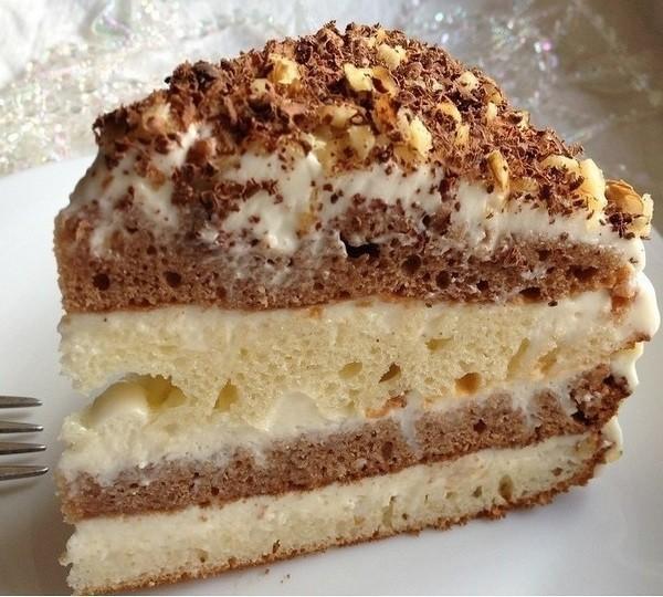 Сметанный торт «Быстрый»