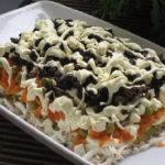 Салат с чрносливом
