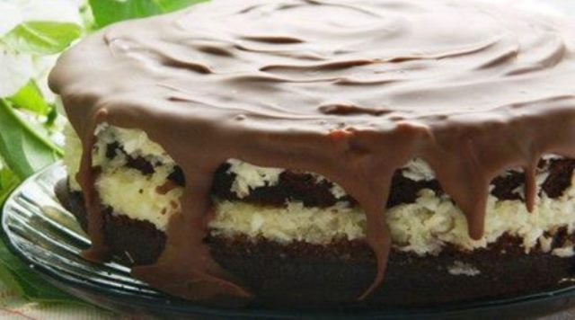 Вкусно до потери пульса. Это не торт, это райское наслаждение! Торт «Баунти»