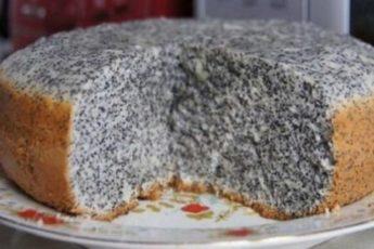 Восхитительный пирог маковник: минимум ингредиентов — максимум вкуса. Замечательная выпечка!
