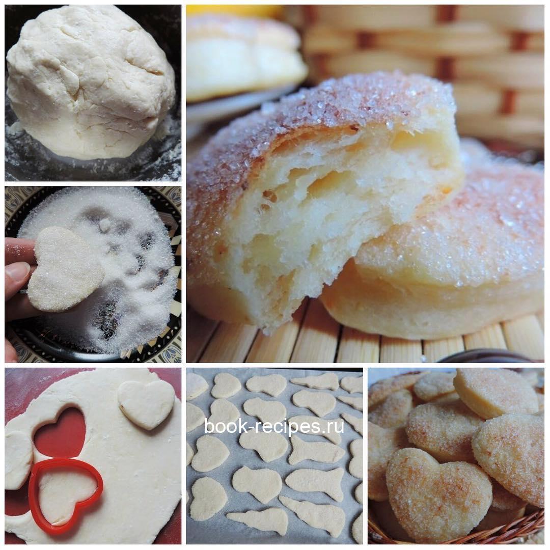 Невероятно вкусное, просто тающее во рту слоеное творожное печенье «Слойка»