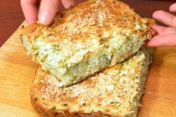 Простой и вкусный заливной пирог с капустой!