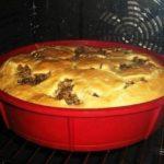 Быстрый пирог на кефире со сметаной - оооочень вкусно!