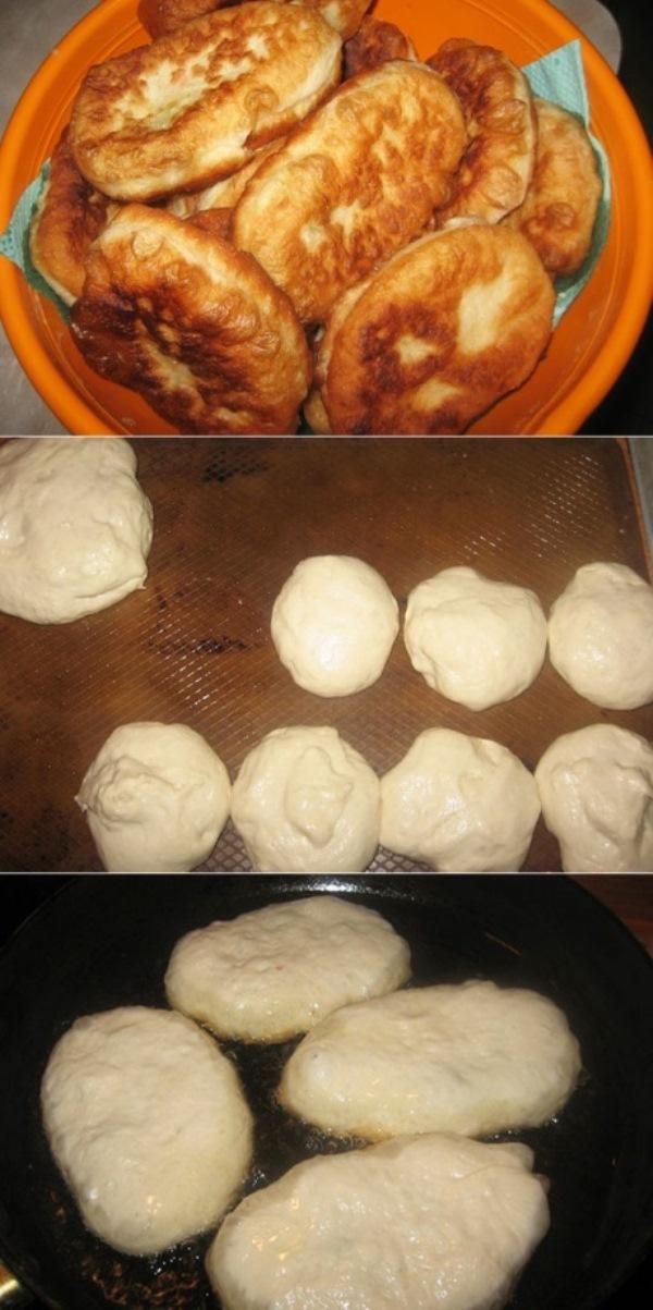 После долгих экспериментов с разным результатом я все же нашла тесто, которое идеально подходит для жареных пирожков. И еще раз убедилась — чем проще рецепт, тем вкуснее!