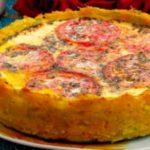 Овощная корзинка — оригинальный и вкусный овощной пирог. Что-то среднее между запеканкой и пирогом. Очень эффектно выглядит, но на вкус он еще лучше.