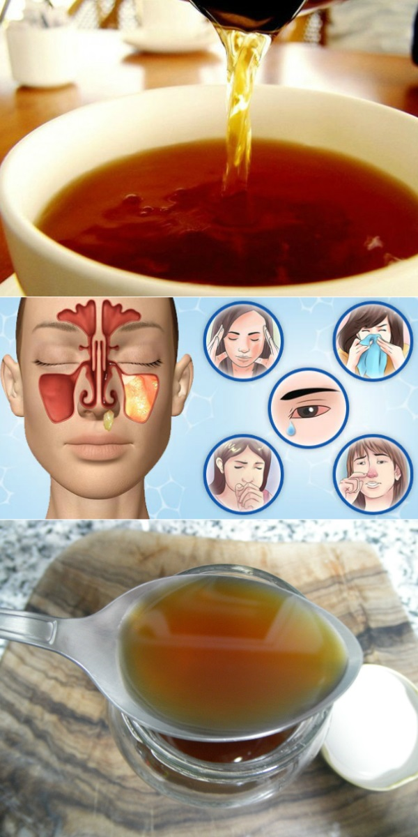 Мощный напиток, мгновенно очищающий дыхательные пути: нос свободный, дыхание чистое!