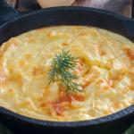 ЭТО БУДЕТ КОРОННОЕ БЛЮДО, ДАЖЕ НА ПРАЗДНИЧНОМ СТОЛЕ - картофельная запеканка с молоком и яйцами