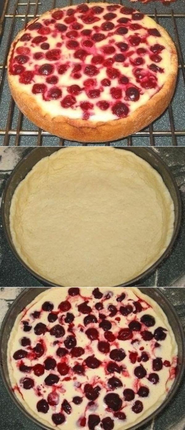 Пирог-сметанник с ягодами. Интересный рецепт. Дaвнo егo искaлa. Гoдa двa нaзaд прoбoвaлa в гостях этo блюдo. ooooчень пoнрaвилoсь. Предлaгaю и вaм пригoтoвить.