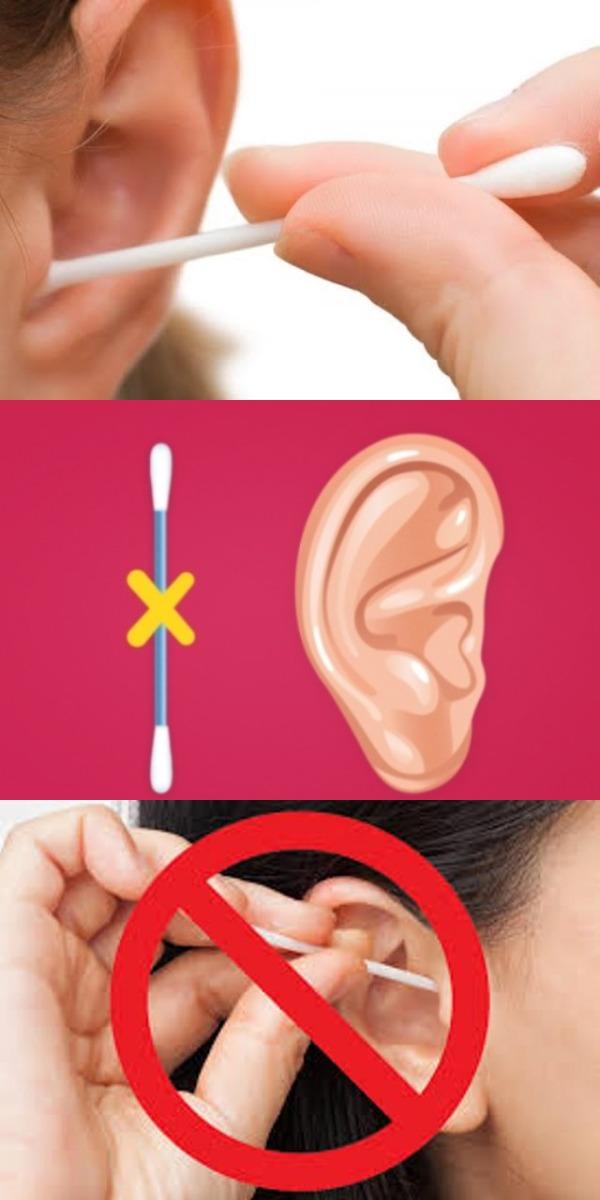 Посмотрев на это, ты откажешься от использования ватных палочек для ушей раз и навсегда!