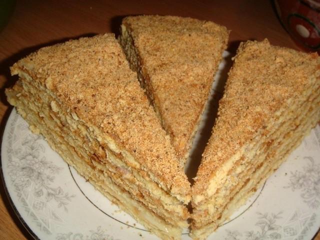 Простой рецепт вкусного медовика (без раскатки коржей)