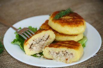 Рецепт самых аппетитных и вкусных картофельных зраз 1